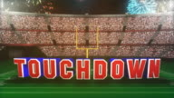 Touchdown Graphic. video