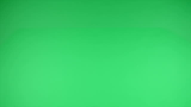 Touchscreen tap, drag and swipe hand gestures on green screen board video
