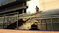 Tour De Stade At Sunset video