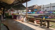 Tourism walk at Amaphawa floating market ,Most Popular Floating Market in Ratchaburi,Thailand video
