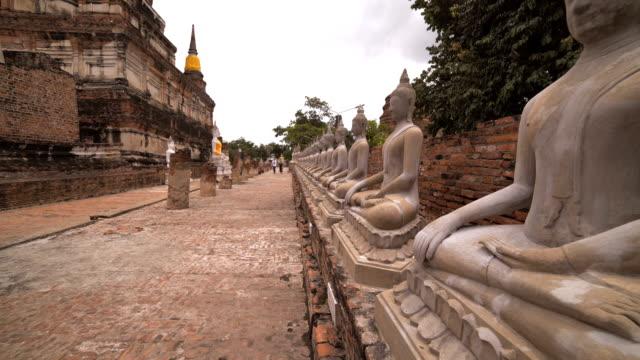 PAN / tourist Go to Wat Yai Chai Mongkol video