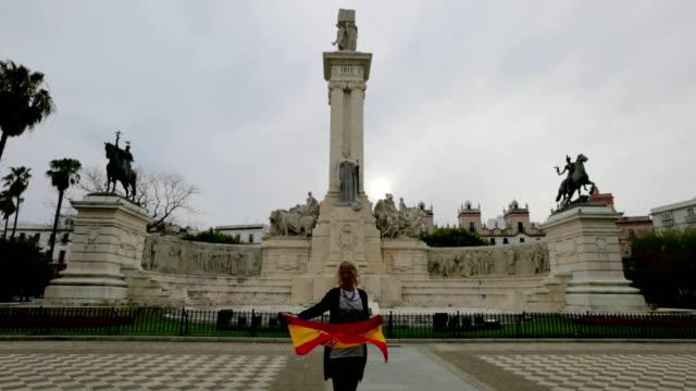 Tourist in Cadiz Spain video