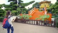 Tourist in Nan Lian Garden ,Hong Kong video