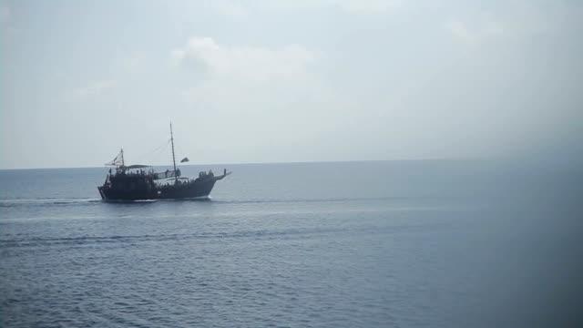 Tourist Pleasure Yacht, Stylized Pirate Ship video
