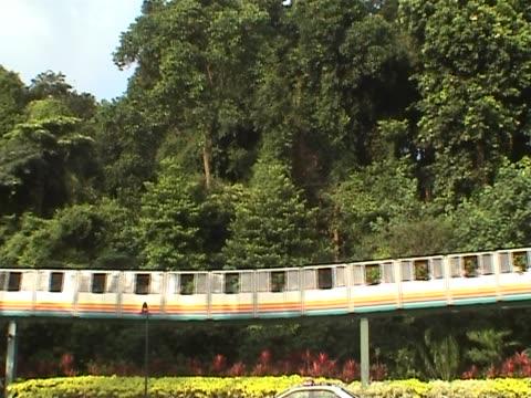 Tourist train in Singapore video