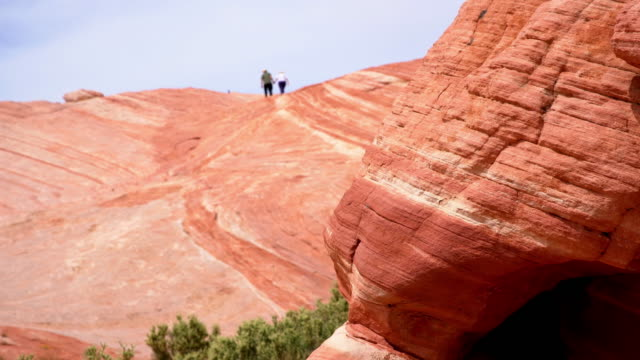 WS Tourists at the Canyonlands National Park video
