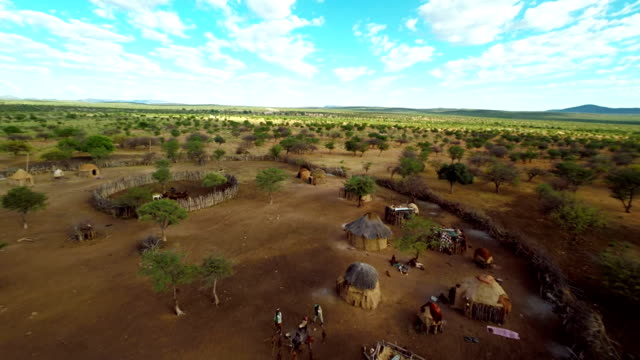HELI Tourists In The Himba Village video