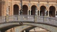 Tourists Near Bridge Of Royal Palace video