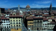 Tourists walking in Florence in Tuscany, Italy video
