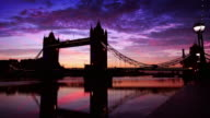 Tower Bridge and the Shard, London video