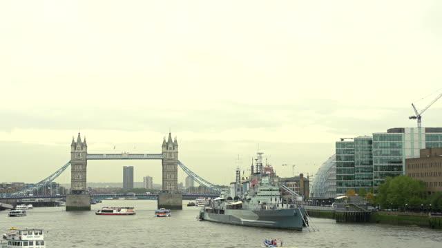 HD: Tower Bridge At Day video