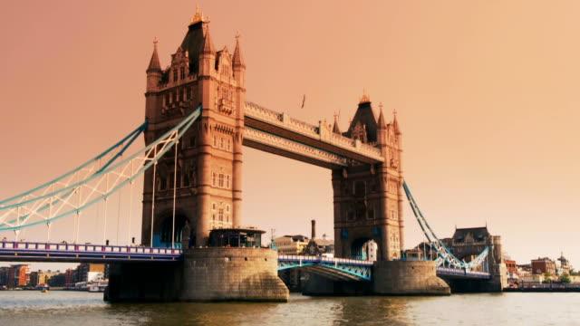 tower bridge in london video