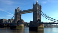 Tower Bridge - London, England video