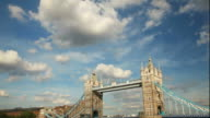 Tower bridge London timelapse video
