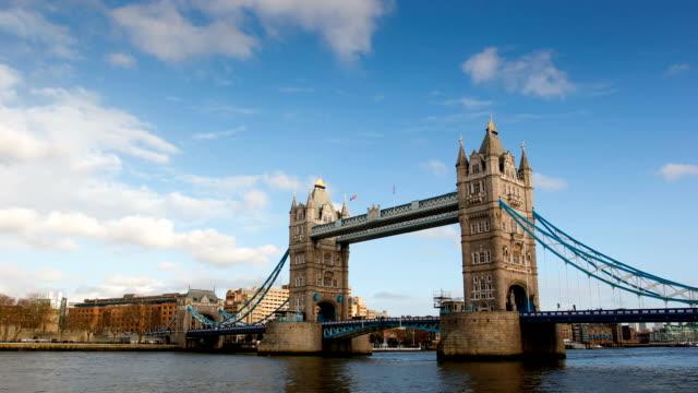 Tower Bridge, London, time-lapse video