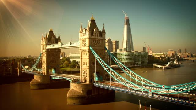 Tower Bridge Morning Time Lapse video