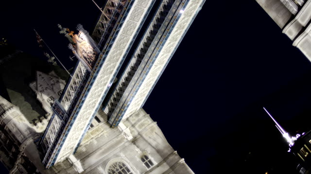 Tower Bridge Night Span video