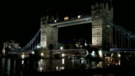 Tower Bridge Night video