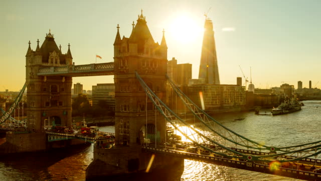 Tower Bridge Sunset Time Lapse video