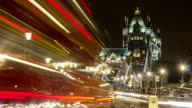 Tower Bridge time-lapse, long shutter video