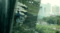 tower glass cleaning video