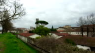 Tower in Lucca city,Italy video