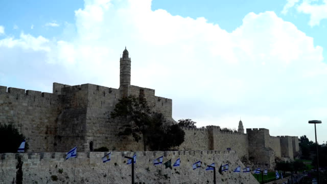 Tower of David video