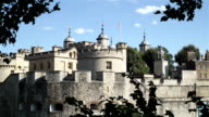 Tower of London, west side. video