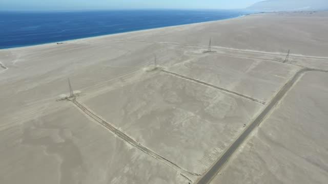 Towers in desert video