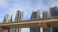 JLT towers in dubai video