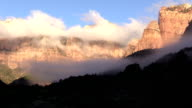 Towers of the Virgin Zion N.P. at Dawn video