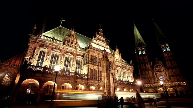 Town hall of city Bremen video