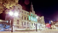 Town Hall of the city of Bilbao. video