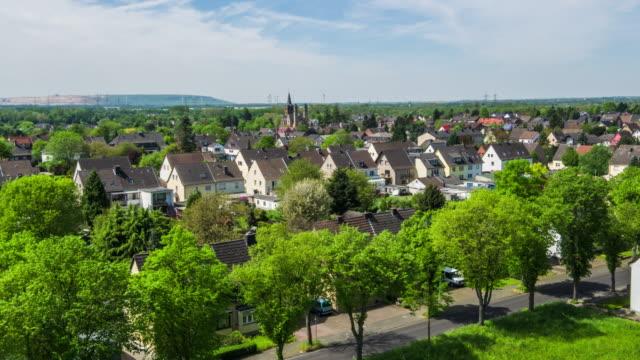 AERIAL: Town in Germany video