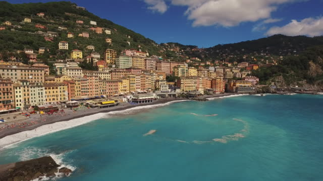 Town of Camogli in Italy video