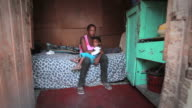 Township Woman with Child video