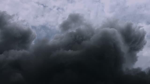 Toxic smoke pollution. video