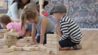 Toy Blocks in Preschool video