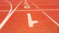 Track running video