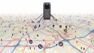 Tracking people using digital surveillance. video