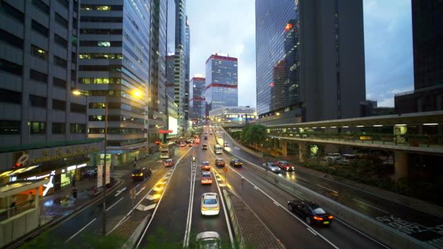 Tracking shot :Hongkong Crossroad video