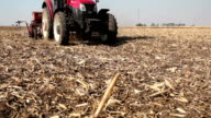 Tractor Sowing the Field video