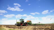 Tractor timelapse video