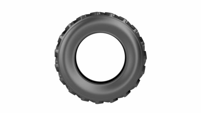 Tractor tire video