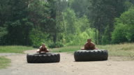 Tractor Tire Workout video