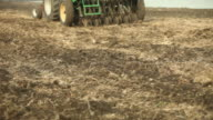 Tractor Towing Planter for Wetland Restoration video