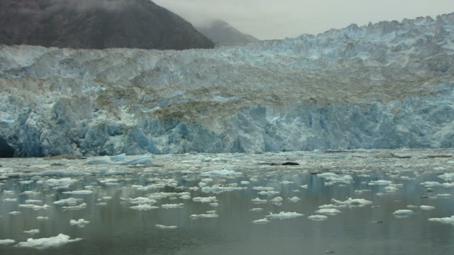 Tracy Arm Alaska Glacier video