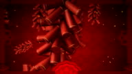Traditional Chinese lunar new year pattern. video