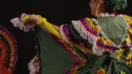 Traditional dancing woman video