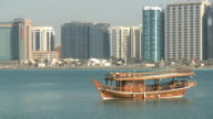 Traditional Dhow in Abu Dhabi video